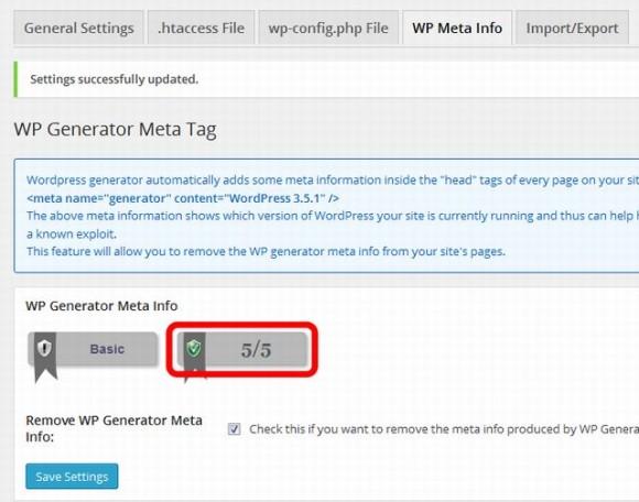 WP Generator Meta Info55